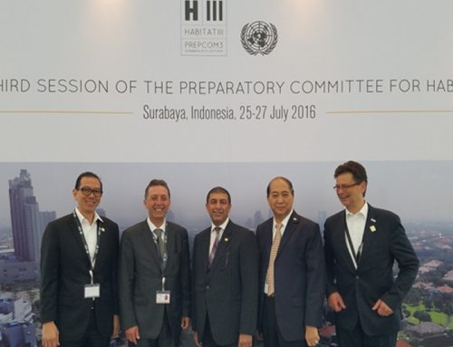Chairman & Ceo Jun Dulalia, Participates In the UN Habitat III PRECOM3 In Surabaya, Indonesia